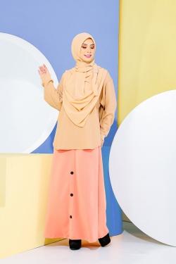 Deena Skirt - Peach