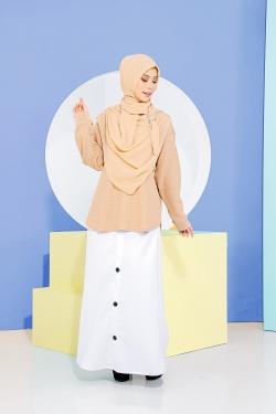 Deena Skirt - Pure White