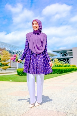 Fehyra Blouse 2.0 - Aster Purple