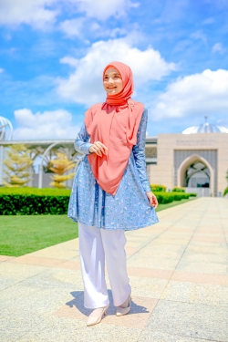 Fehyra Blouse 2.0 - Lily Blue