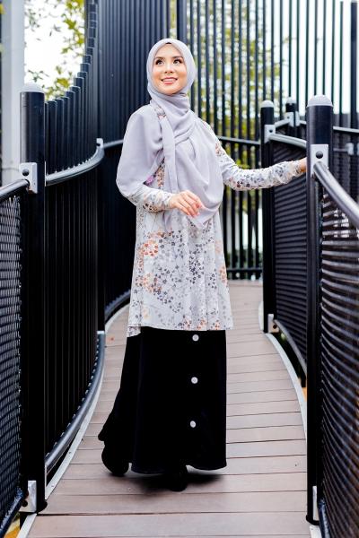 Felysa Blouse - Light Grey